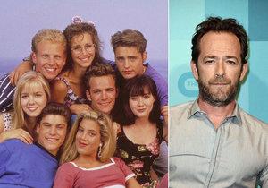 Herec Luke Perry ze slavného seriálu Beverly Hills 902 10 prodělal silnou mrtvici právě v den, kdy byl oznámen reboot slavného seriálu.