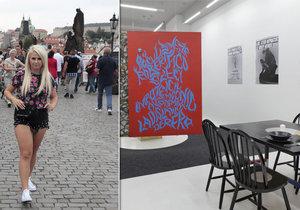 Turisté budou na měsíc bydlet v Galerii NoD v centru Prahy.