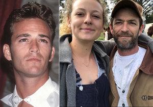 """Dojemná slova dcery Luka Perryho (†52) alias Dylana z Beverly Hills 90210! """"Bylo to tak rychlé!"""""""