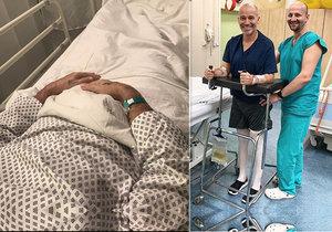 Honza Musil po úrazu páteře: Zákaz od lékařů mu komplikuje život!