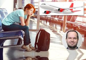 Zpozdí se vám letadlo? Máte nárok na odškodné až 15 tisíc, má to ale háček