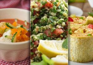 Pusťte si do kuchyně světovou gastronomii a vyzkoušejte něco nového.