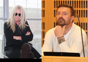 Tomáš Řepka se s Renatou Řepkovou soudí o alimenty na jejich společné děti Veroniku a Tomasse.