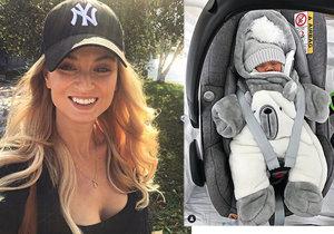 Tereza Fajksová porodila holčičku Lilien.