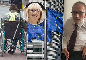 """EU chtěla pomoct postiženým, vznikla vykleštěná směrnice. Sehnalová zuří: """"Hanebný přístup!"""""""