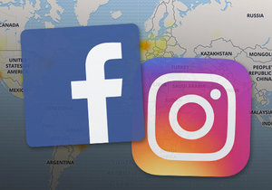 Sociální sítě facebook a instagram postihl ve středu 13. března výpadek.