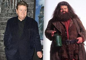 Robbieho Coltranea si většina lidí pamatuje jako Hagrida z Harryho Pottera