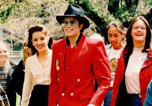 Michael Jackson a Lisa Marie Presley