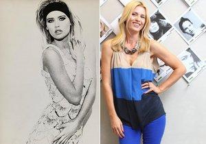 Krásná Daniela Peštová popsala své modelingové začátky.