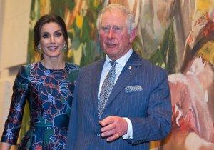 Princ Charles a královna Lezitia