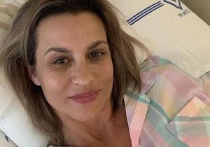Monika Marešová je v nemocnici.