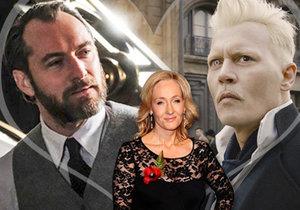 J.K.Rowlingová šokuje: Grindelwald a Brumbál byli homosexuální pár!