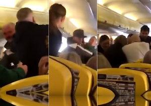 Při letu z Glasgow na Tenerife opilý muž ukousl jinému pasažérovi kus nosu.