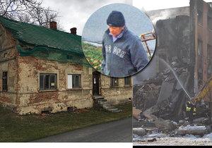 Stát prodal ruinu po atentátníkovi Antonínu Blažkovi (†57), který v roce 2013 vyhodil do vzduchu panelák ve Frenštátě pod Radhoštěm.