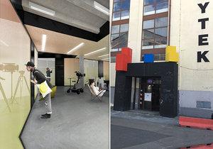 V hale číslo 40 na holešovické tržnici začal vznikat nový projekt.
