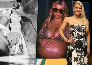 Jessica Simpsonová konečně porodila!
