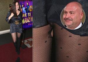 Dcera Michala Davida na premiéře: Pásek za 20 tisíc, ale díra mezi nohama!
