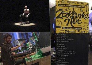 VIDEO: Žižkovská noc v plném proudu: Zpívání o p*deli, polské divadlo i rock