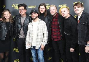 Hudební ceny Evropy 2 ovládli Lipo, Lenny a kapela Mirai