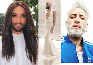 Šokující proměna: Fousatá zpěvačka Conchita Wurst je po smrti! Jak vypadá vítěz Eurovize teď?