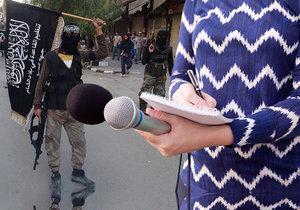 Německou novinářku rok věznili džihádisté, (ilustrační foto).