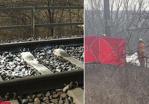 Kamarádky (†18 a †19) si společně lehly na koleje pod vlak.