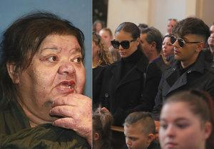 Monika Bagárová slzela pro svou kritičku Věru Bílou.