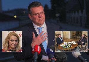 Maroš Šefčovič v rozhovoru pro Blesk popsal návštěvu Zemana i zákulisí svého vztahu.