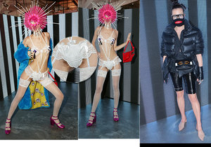 Blogerka Alex Wortex šokovala na týdnu módy Fashion Week.