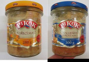 Další problém s masem v Lidlu: Polské sklenice Pikok falšovaly složení