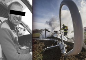 Po zesnulém pilotovi zůstaly dvě dcerky (3,8): Michale, dáme dole pozor na holky
