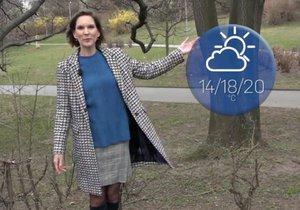 Počasí na konec března