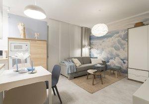 Ze starého bytu je moderní bydlení s krásným dívčím pokojem
