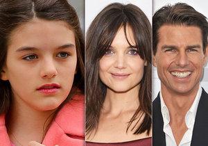 Komu se Suri podobá více, mamince Katie nebo tatínkovi Tomovi?