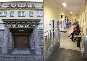 Nemocnici Na Františku v polovině roku převezme pražský magistrát.