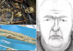 Přeražený nos, amputovaná chodidla i stará jizva: Policie pátrá po jménu nalezené mrtvoly