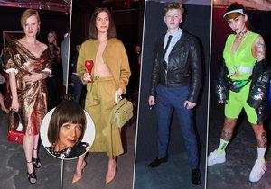 Františka hodnotí módní počiny Mercedes-Benz Prague Fashion Weeku