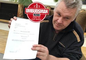 Tomáš Šťastný (50) z Brna: 10 let platí dluh za jiného!