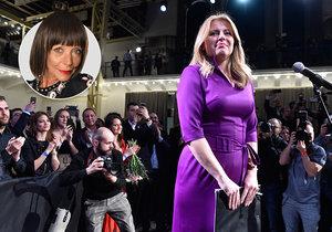 Modní guru Blesku hodnotí šaty, v nichž Čaputová pronesla první projev coby nová prezidentka.