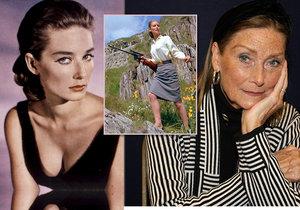 Herečka a modelka Tania Malletová zemřela ve věku 77 let. Proslavila se jako Bond Girl ve filmu Goldfinger