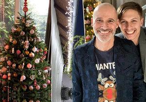 Honza Musil slavil na konci března Vánoce! Nechyběl stromeček ani světélka na domu!