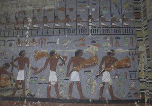 Egyptologové z Česka objevili v jižní Sakkáře hrobku hodnostáře Chuyho.