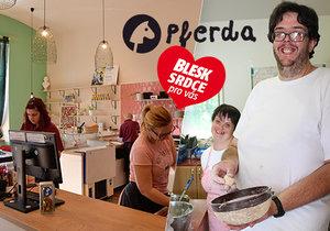 Organizace Pferda pomáhá lidem s mentálním postižením: Mají práci v kavárně i pekárně a najdou cestu k samostatnému bydlení