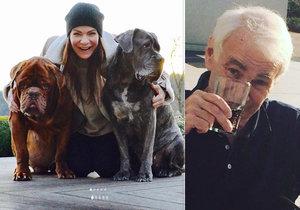 Zpěvačka Anna K. vzpomínala na milovaného zesnulého tatínka a její psy, kteří zemřeli loni ve stejný den.