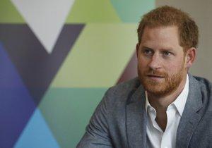 Princ Harry nemá rád sociální sítě.