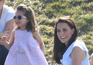 Princezna Charlotte zanedlouho oslaví čtvrté narozeniny