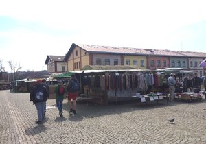 Takto v současných dnech vypadá areál Pražské tržnice.