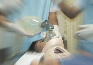 Resuscitace (ilustrační foto)
