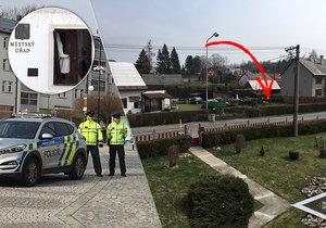 Výbuch bomby na radnici v Rýmařově: Asi kvůli prkotině, rodiny se léta hádají o kus trávy!