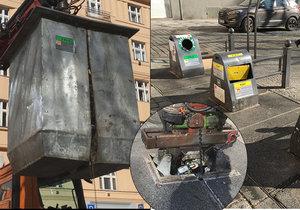 Podzemních kontejnerů je v Praze čím dál víc, mají řadu výhod.